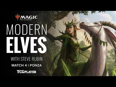 [MTG] Modern Elves | Match 4 VS Ponza