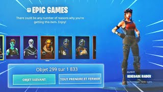 'GROS BUG' HAVE ALL SKINS FOR FREE 0 on FORTNITE SAISON 10 -PS4/ONE/PC/SWITCH/MOBILE