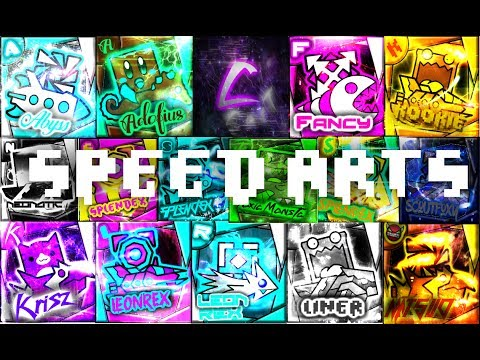 THE LENGTH IS WORTH IT XD -- Geometry Dash Profile Picture Speed Arts