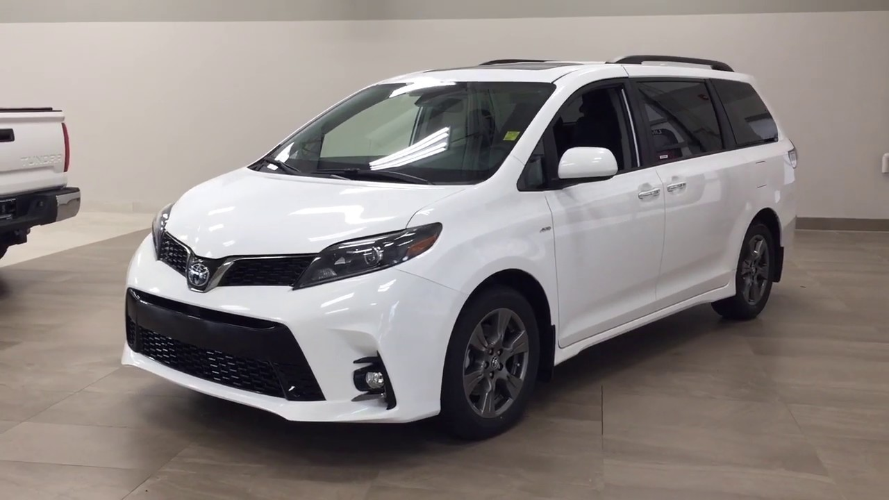 2020 toyota sienna se awd review youtube 2020 toyota sienna se awd review