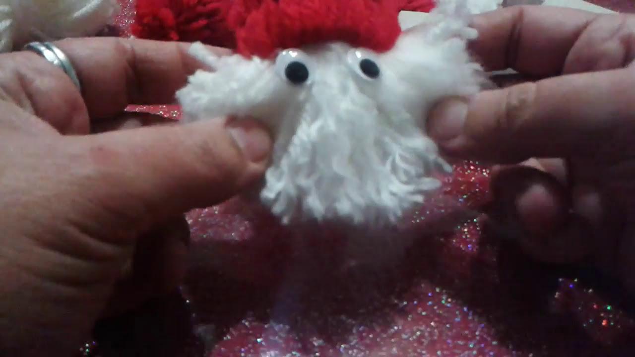 Babbo Natale Con Pon Pon Youtube