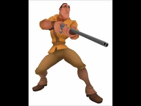 Brian Blessed as Clayton in Kingdom Hearts (Battle Quotes)