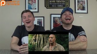 JUMANJI: WELCOME TO THE JUNGLE - Official Trailer #2 REACTION!