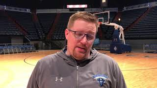 Coach Slessinger recaps 68-61 win over SFA
