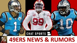 49ers Rumors & News: Sign Cam Newton? Curtis Samuel Trade? + DeForest Buckner Trade Details