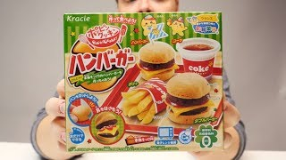 Valmistetaan hampurilaisateria japanilaisesta DIY-karkkisetistä! #3