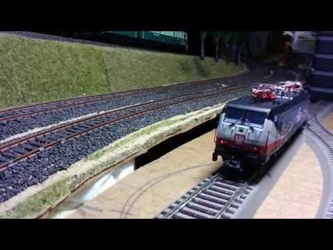 TRIX 22862 E189-213 LINKED BY RAIL sound test MOV 0092