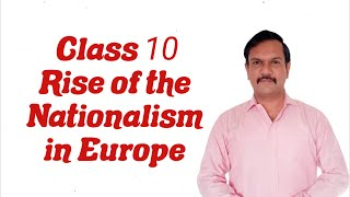 Class 10 History Chapter 1 Rise Of The Nationalism In Europe Part 1  Hindi Explanation