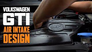 homepage tile video photo for Volkswagen GTI Mk7 Air Intake Design & Prototype - First Look!