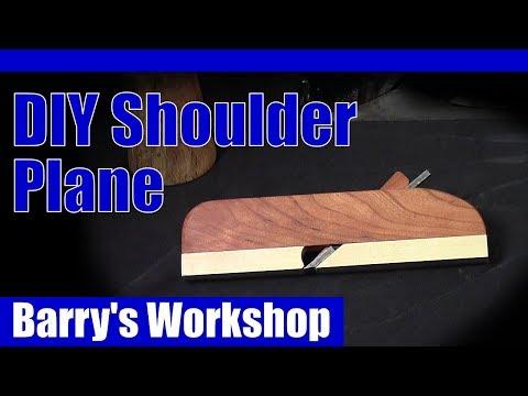 DIY Wooden Shoulder Plane