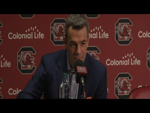 MEN'S BASKETBALL: South Carolina Post Game