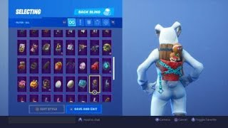 "Unlocked ""Merry Munchkin"" Backbling In Fortnite Battle Royale! (Day 7 Of The 14 Days Of Fortnite)"