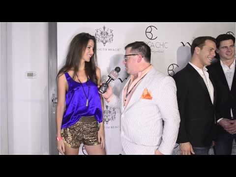Jessica Barboza at Barraca Chic Swimwear Show at SLS Southbeach thumbnail