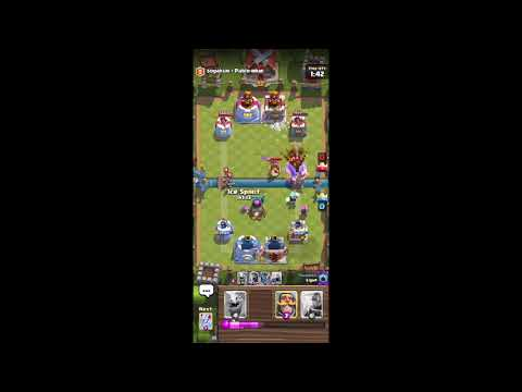 Getting Star Level Firecracker In Clash Royale. + Gameplay