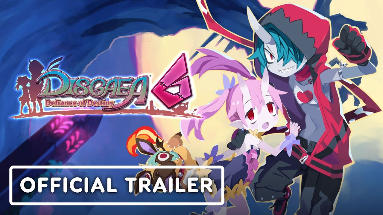 Disgaea 6: Defiance of Destiny - Official Announcement Trailer - IGN