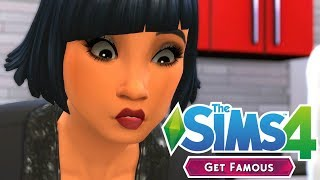BIRTHDAY IN THE HILLS - The Sims 4: Get Famous | Episode 13