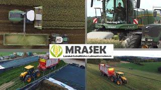 GPS und Grassilage mit dem Lohnunternehmen Mrasek aus Haag