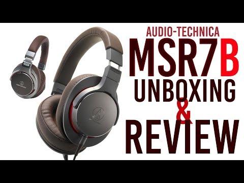 EXCLUSIVE Audio-Technica MSR7-B UNBOXING, REVIEW & COMPARISON [2019]