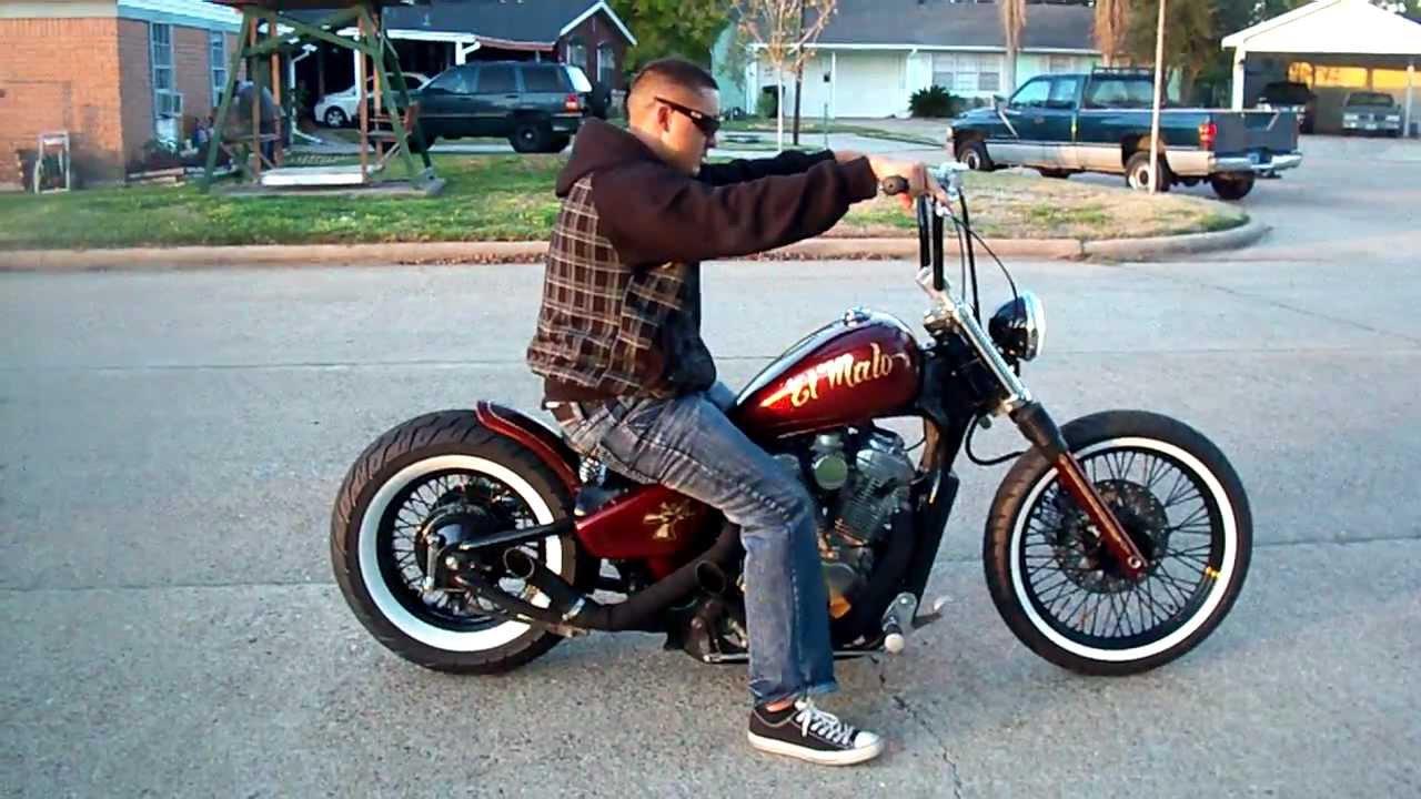 Houston Retro Bobbers EL Malo aka ( The Bad A$s) ride away ...