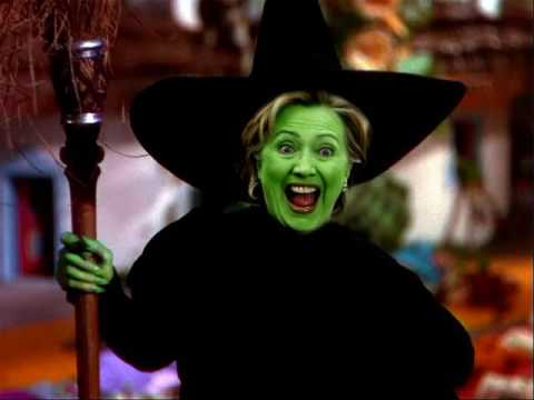 Ding Dong The Wicked Witch Hillary Is Dead