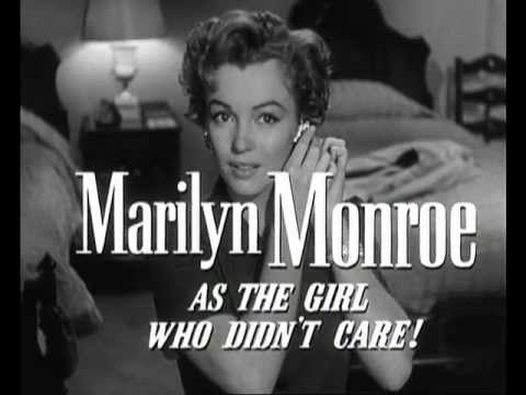 Marilyn Monroe - Don't Bother To Knock, Movie Trailer