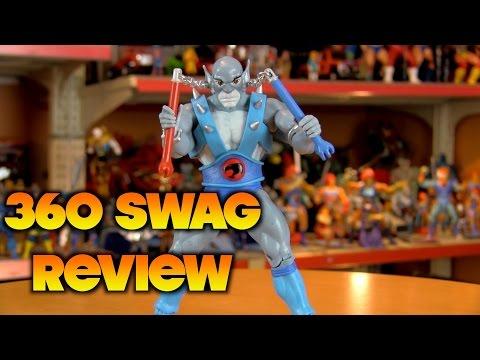 360 Swag Review: Mattycollector Thundercats Classics Panthro figure