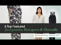 6 Top Featured Jumpsuits, Rompers & Overalls By Rachel Roy, Winter 2017