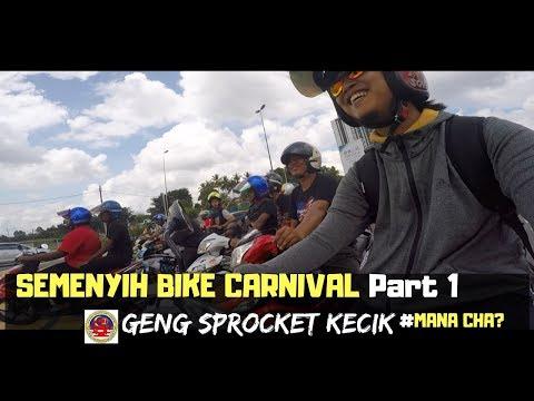 Semenyih Bike Carnival - Geng Sprocket Kecik (Part 1) | MANA CHA MOTOVLOG