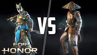 [For Honor] SHAMAN VS ARAMUSHA! Spliced VS Flookerson!
