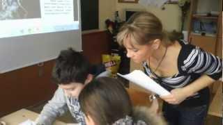 Открытый урок математики в 5а классе