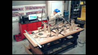 2012 Car Construction Timelapse :: Western Formula Racing