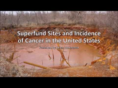 Superfund Sites and the Incidence of Cancer in the United States