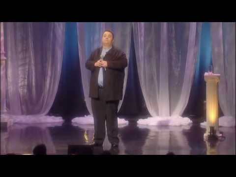 Dan Holzman - John Pinette is the Tuesday Night Comedian.