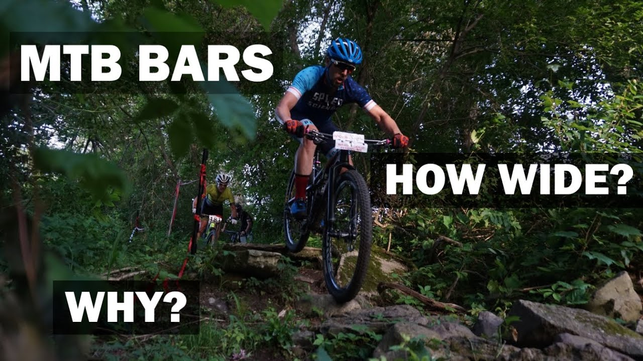 How (and WHY) to find your ideal MTB Handlebar Width