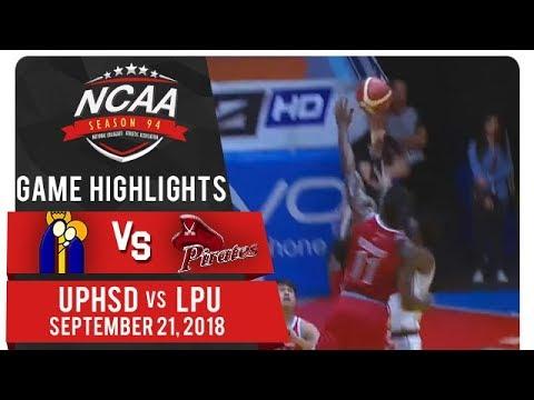 NCAA 94 MB: UPHSD vs. LPU | Game Highlights | September 21, 2018