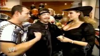 Stephanie McMahon SEXY WITCH OUTFIT!
