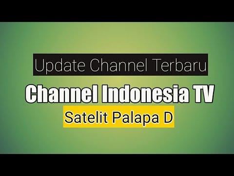 Frekuensi Channel Indonesia, Update Satelit Palapa D