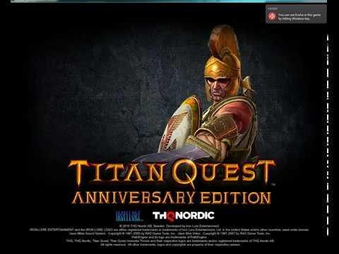 Evolve Играть в Titan Quest после закрытия Tungle