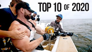 Top 10 Best Fishing Moments from 2020