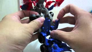 ko transformers aoe voyager optimus prime with alloy metal parts