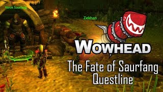 The Fate of Saurfang Questline