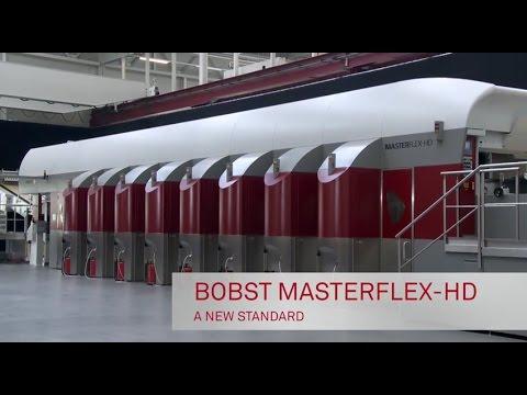 BOBST MASTERFLEX-HD Flexographic printing press