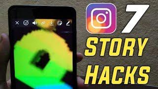 7 Instagram Story Hacks 2019 | 7 Instagram Story Tips & Tricks | Instagram Story Hidden Features