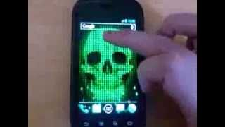 Digital Skull Live Wallpaper