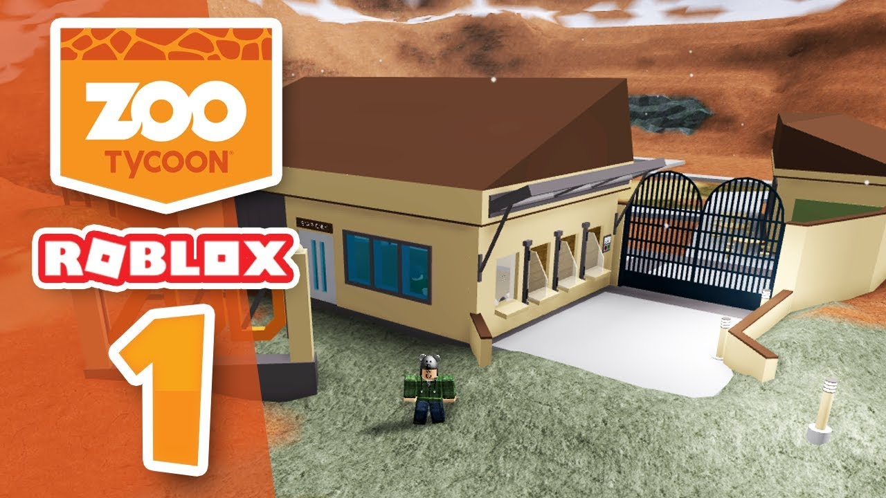 Download BUILDING MY OWN ZOO - Roblox Zoo Tycoon #1