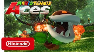 Mario Tennis Aces - Fire Piranha Plant - Nintendo Switch