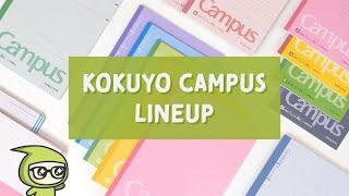 Kokuyo Campus Lineup: The Most Popular Student Notebook from Japan?! screenshot 2