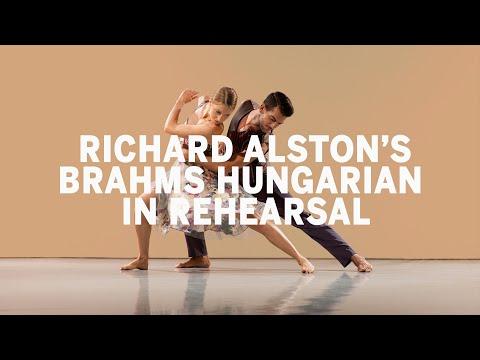 Richard Alston Dance Company: Brahms Hungarian In Rehearsal