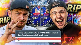 Auf Perfekt den TOTY DISCARD GEHUSTLET 😱 TOTY DISCARD BATTLE 😭 vs Gamerbrother