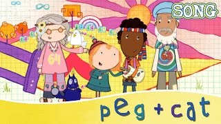 peg cat the sixties song